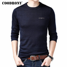 COODRONY Brand Sweater Men Knitwear Pull Homme Streetwear Casual O-Neck Pullover Autumn Winter Mens Warm Wool Sweaters 91049
