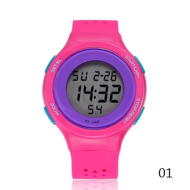 Fashion Electronic New Men Sports Watches Unisex LED Digital Bracelet Watch Lumi