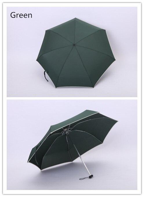 Купить с кэшбэком Hot selling/8 colors/Mini 5-folding umbrella/sunny and rainy/Advertising umbrella/Printing Logo/light and convenient/fashion/