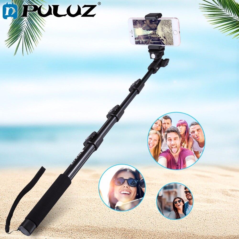 Pour Aller Pro Accessoires Extensible Réglable pôle De Poche Selfie Bâton Monopode pour GoPro HERO5 HERO4 Session HERO 5 4 3 + 3 2