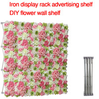 Aluminum Flower Wall Folding Frame Wedding Party Background Wall Exhibition Booth Trade Advertising Display Rack