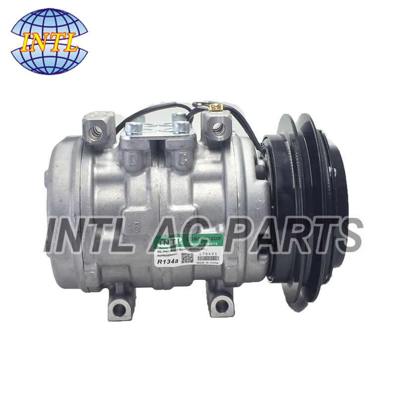 MR175654 MR175655 MR115636 10P15C auto air ac compressor for Mitsubishi Delica L300 Truck 1993 2003-in Air-conditioning Installation from Automobiles & Motorcycles    1