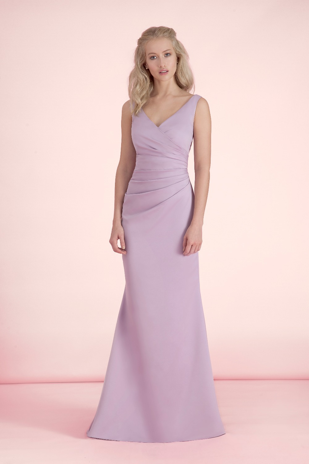 Popular beautiful lavender bridesmaid dresses buy cheap beautiful vestidos de novia pastel lavender bridesmaid dresses vintage pleat party dress vestido de festa longo beautiful ombrellifo Gallery