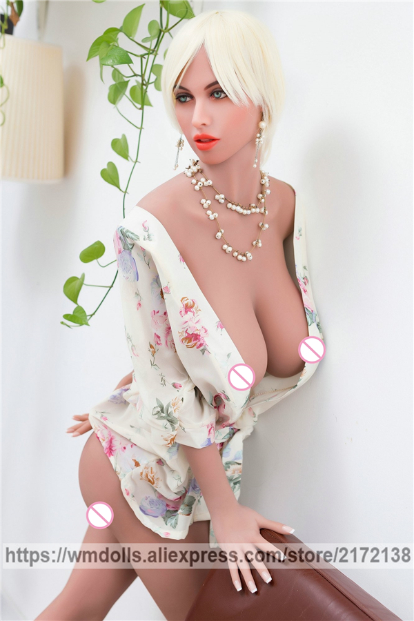 WMDOLL 172cm Realistic Silicone Sex Dolls Sexy Robot Love Doll Real Sized Adult Toys for Men Soft Big Breast