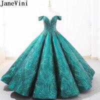 JaneVini 2019 Bonzer блестками красное платье для выпускного вечера Женские арабское бальное платье Вечерние платья Саудовская Аравия длинное вече