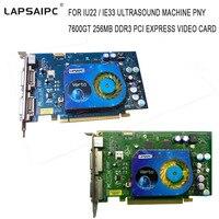 Для IU22/IE33 ультразвуковой аппарат PNY 7600GT 256 МБ DDR3 PCI Express Видеокарта