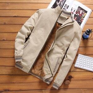 Image 4 - Mountainskin kurtki z polaru męskie Pilot Bomber Jacket ciepłe męskie moda Baseball bluzy hip hopowe Slim dopasowany płaszcz odzież marki SA690
