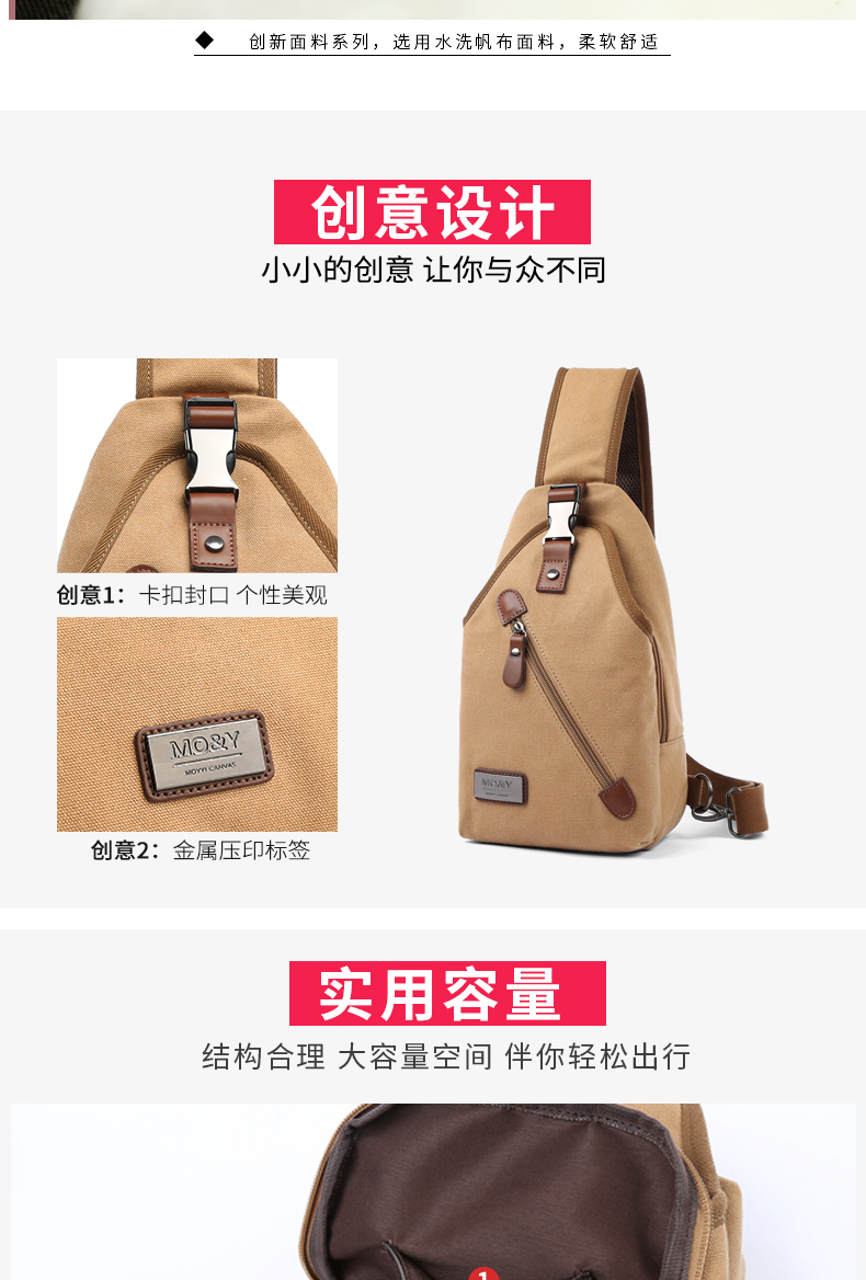 c2f4444ff0a2 MOYYI Vintage Men S Messenger Bags Canvas Shoulder Bag Zipper ...