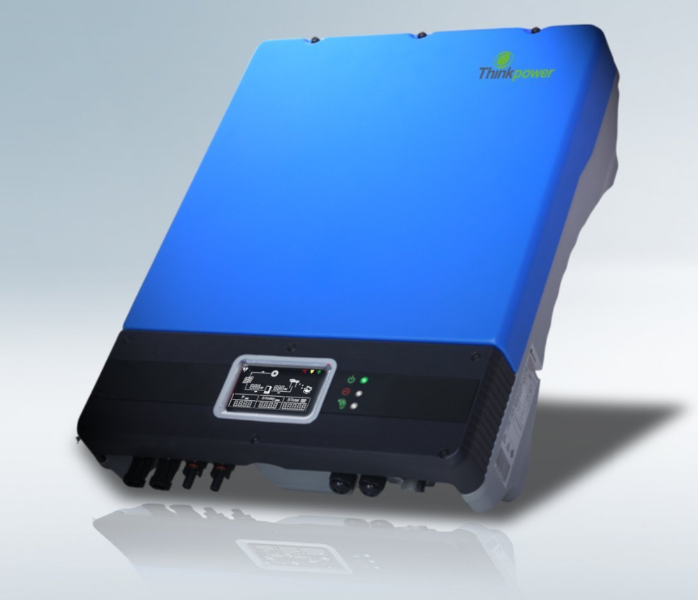 Tumo Int 3000W Single Phase Solar Power Grid Tied Inverter with MPPT Tracing and Anti Insland Protections