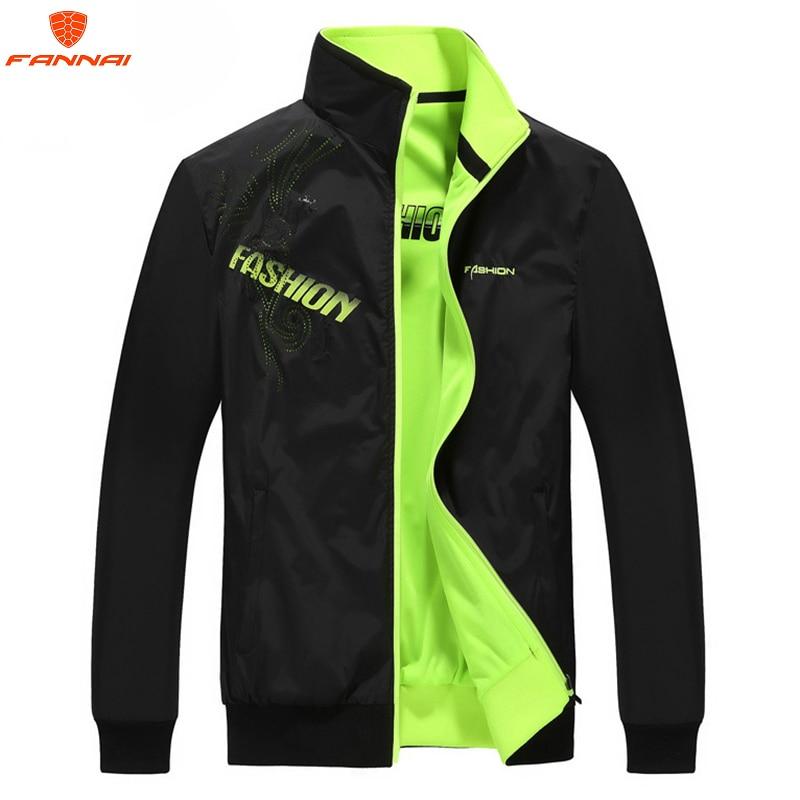 Men's Jackets 2019 New Casual Jacket Men Sportswear Quality Spring Autumn Jacket Plus Size 5XL  Mens Jackets and Coat