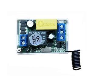 Image 2 - 220 v 1 ch RF draadloze afstandsbediening schakelaar 2 ontvanger 1 zender muren afstandsbediening zelf lock modus