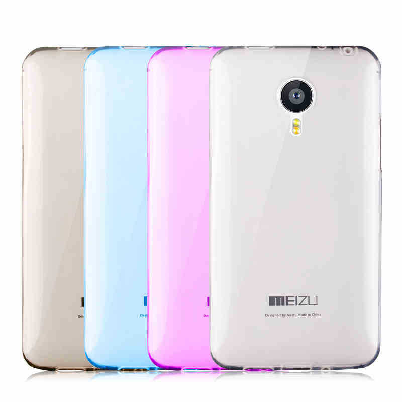 MX4 pro Cases Super Slim Phones Case Meizu MX 4pro Luxury Crystal Clear Back Cover Shell 4 - robin chan's store