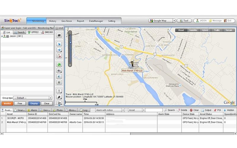 35361fe5c Código fonte do Software de Rastreamento GPS Gestão de Frotas GPS baseado  em Servidor baseado Na Web Sistema de Rastreamento Em Tempo Real Frete  Grátis DHL ...