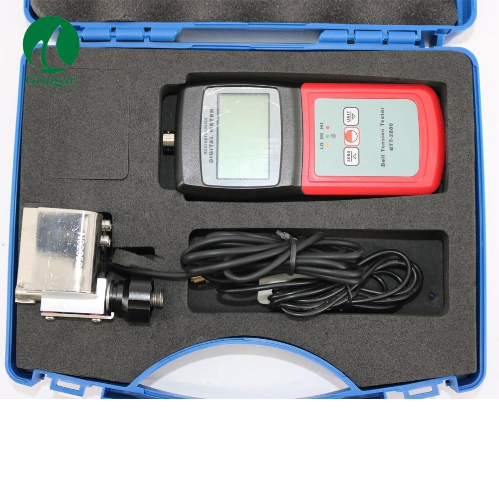 Belt Tension Meter BTT 2880 Measurement Range 0 750N Newtons Audible Warning Piezoelectric Sounder