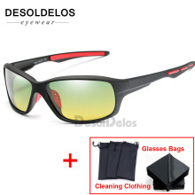 Day Night Vision Polarized Glasses Multifunction Men Sunglasses Reduce Glare Driving Sun Glass Goggles Eyewear