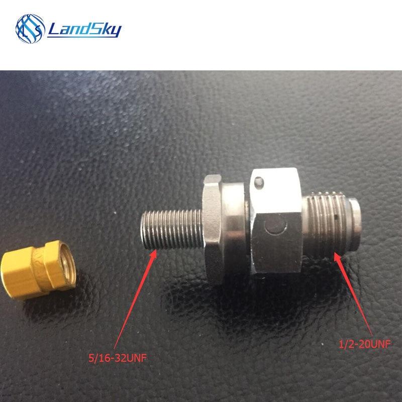 Accumulator precharge kit accumulator precharge kit stikstof gas druk accumaltor charge valve hydro montage deel # M6164-2