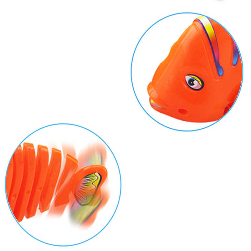 Детские часы заводные игрушки Детские Классические игрушки милые заводные рыбий хвост цепи движущиеся дети подарок цвет случайный