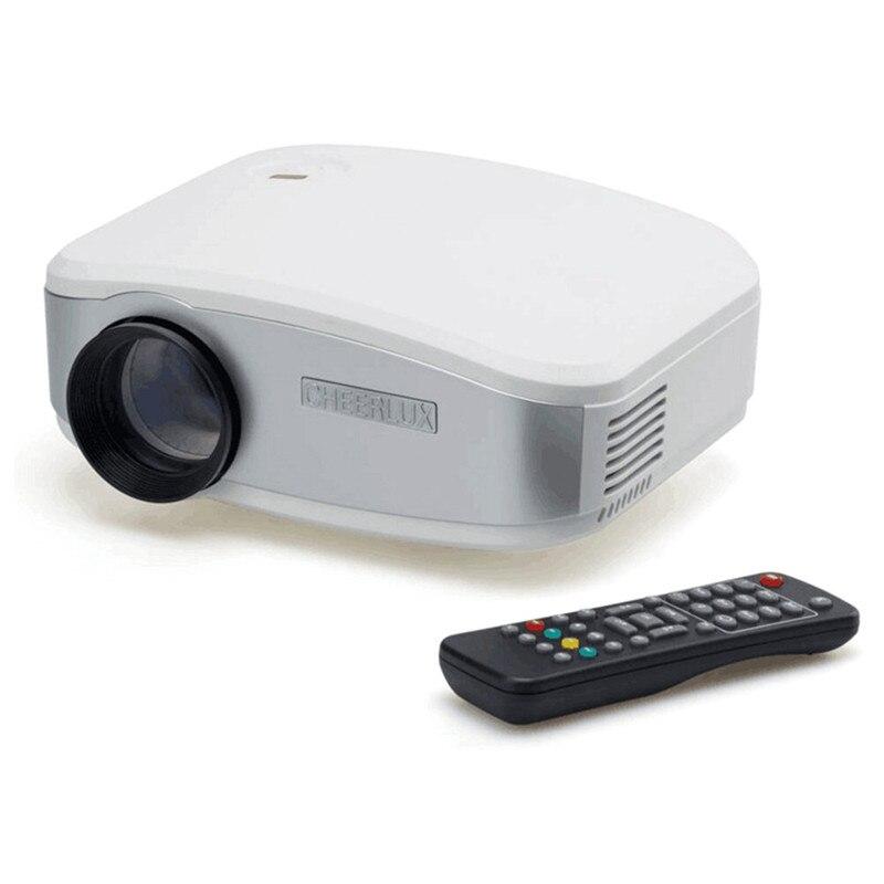 Mini Proyector LCD 1080 P 1200 Lúmenes de cine en Casa HDMI/USB/VGA/AV Portátil