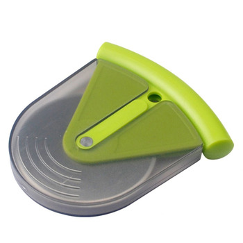 1PC Green Stainless Steel Pizza Wheel Round Shape Pizza Cutter Plastic Handle Cake Bread Knife Safety Protective Kitchen Tool нож для пиццы