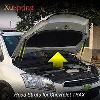 Auto Motor Haube Abdeckung Unterstützung Lift Stange Gas Spring Shock Hydraulische Rod Strut Bars Für 2016 2017 2018 Chevrolet TRAX auto styling|Innenformteile|Kraftfahrzeuge und Motorräder -