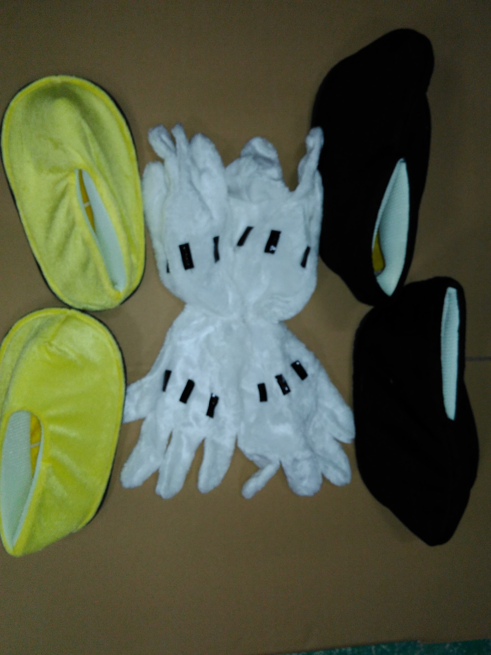 BING RUI CO Minnie Mouse guanti e scarpe COSTUME DELLA MASCOTTE TESTA del VENTILATORE e serventi fan appassionato e maglia Fredda