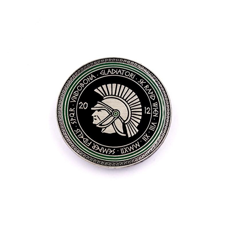 Custom Print Badge Gift Hot Sale Metal Badges