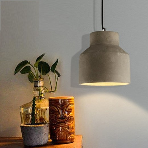 Nordic Loft Style Creative Cement Droplight LED Industrial Vintage Pendant Light Fixtures For Dining Room Hanging Lamp Lampara loft style creative cement droplight edison industrial vintage pendant light fixtures for dining room hanging lamp lighting