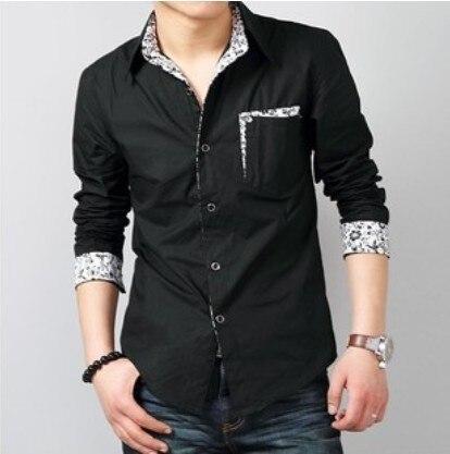Grande taille M-3XL 4XL 5XL 6XL 7XL (poitrine 135 cm) homme chemise 2014 nouveau printemps été automne hommes chemises coton vêtements pour hommes xxxxxxxl