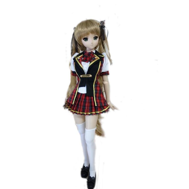 [wamami] 300# Fashion School Uniform/Suit/Outfit For 1/4 MSD AOD DOD BJD Dollfie [wamami] 251 blue school uniform suit for 1 3 sd aod dod bjd doll dollfie