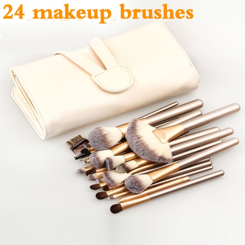 Brand 12/18/24pcs high quality makeup brush set Synthetic Professional Cosmetic Make up Foundation Powder Blush makeup brushes 12 18 24pcs make up brush set soft synthetic professional cosmetic makeup foundation powder blush eyeliner brushes kit