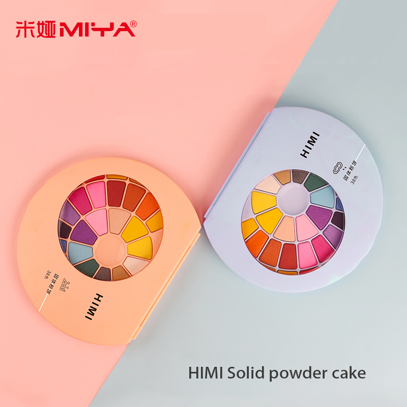 HIMI Solid Watercolor Paint Student Beginner Powder Cake Water Color Painting  Hand Painted Gouache Art Supplies