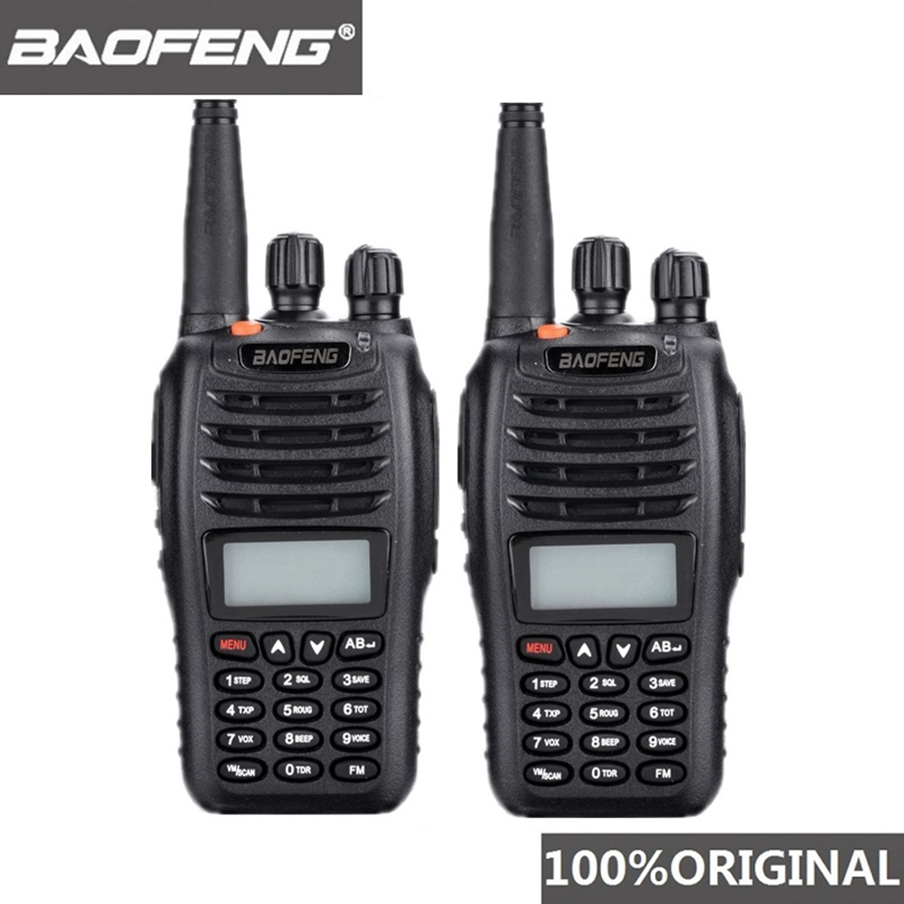 2 Pcs Baofeng UV B5 Walkie Talkie 99 Channel Two Way Radio UHF VHF Long Range