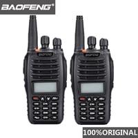 מכשיר הקשר שני 2 יח Baofeng UV-B5 מכשיר הקשר 99 ערוץ שני הדרך רדיו UHF VHF ארוך טווח כף יד FM HF משדר Ham Radio Comunicador (1)