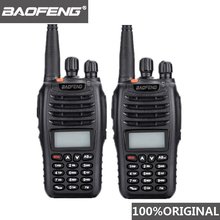 цена 2 Pcs Baofeng UV-B5 Walkie Talkie 99 Channel Two Way Radio UHF VHF Long Range Handheld FM HF Transceiver Ham Radio Comunicador