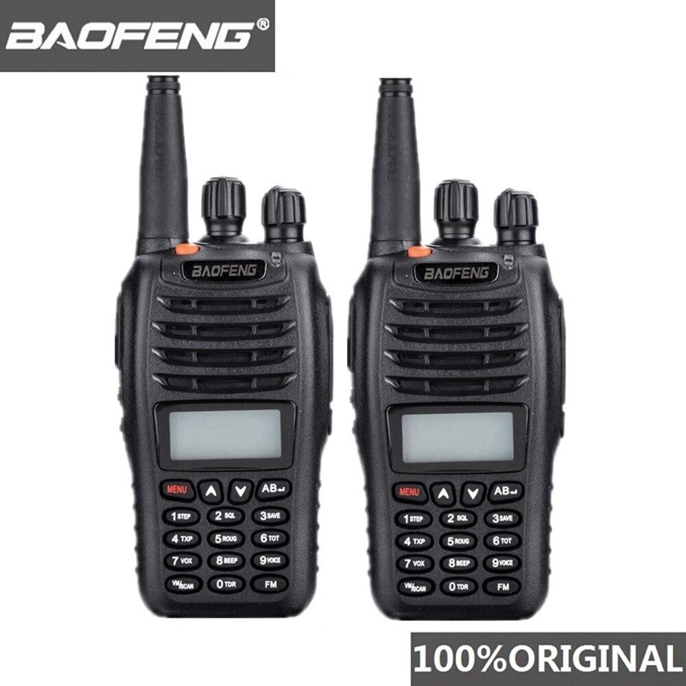 2 pièces Baofeng UV-B5 talkie-walkie 99 canaux Radio bidirectionnelle UHF VHF longue portée portable FM HF émetteur-récepteur Radio jambon Comunicador