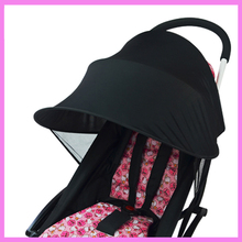 Baby Stroller Sunshade UV Protection Baby Sun Shade Umbrella Cover Sunscreen Awning Roof Rain Cover Stroller Accessories