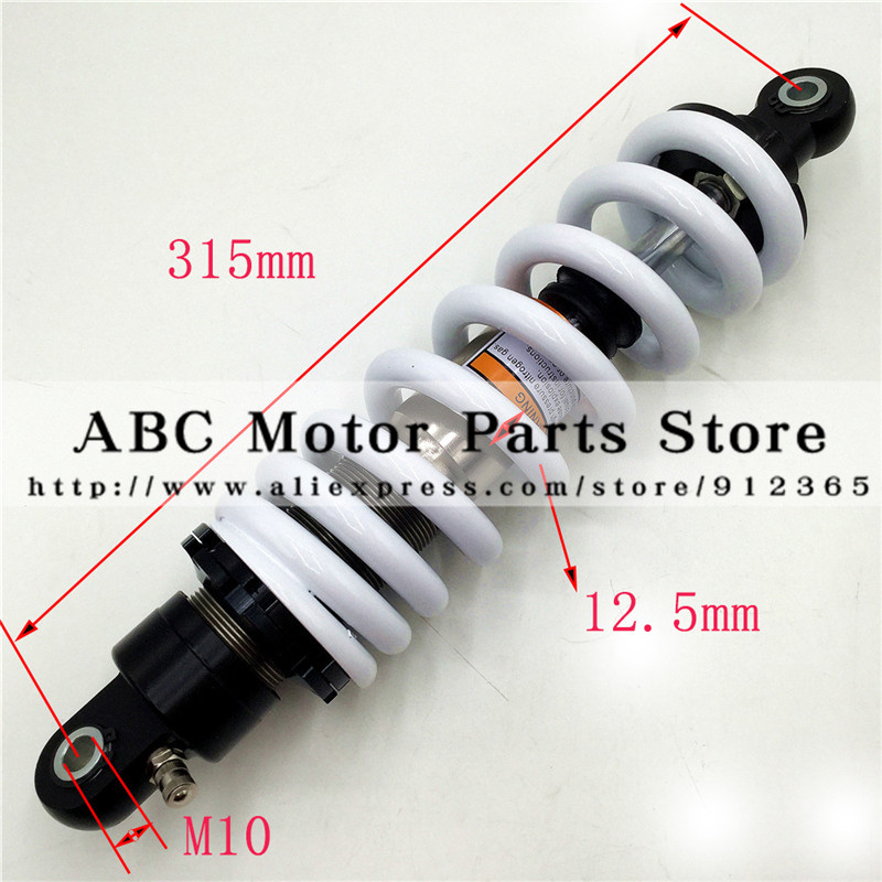 315MM 325MM Rear Shock Absorber Damping Adjustable 315  325 Length After The for BSE T8
