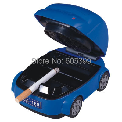 New Popular USB Ashtray/Smoke Detector Battery Beetle Car Version Available To Send Husband Or Boy Friend Car Accessories