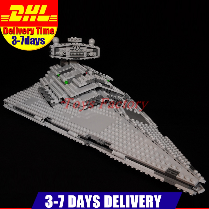In Stock Lepin 05062 UCS Series The Imperial Super Star Destroyer Set Educational Building Blocks Bricks Clone 75055 in stock lepin 05054 genuine ucs series the rebel u wing fighter set building blocks bricks set toys clone 75155