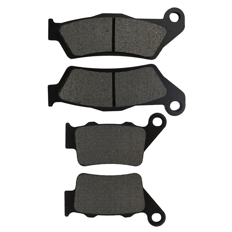Motorcycle Front and Rear Brake Pads for KTM LC4 625 SC -2002 Black Brake Disc Pad motorcycle front and rear brake pads for ktm exc450 exc525 2003 black brake disc pad