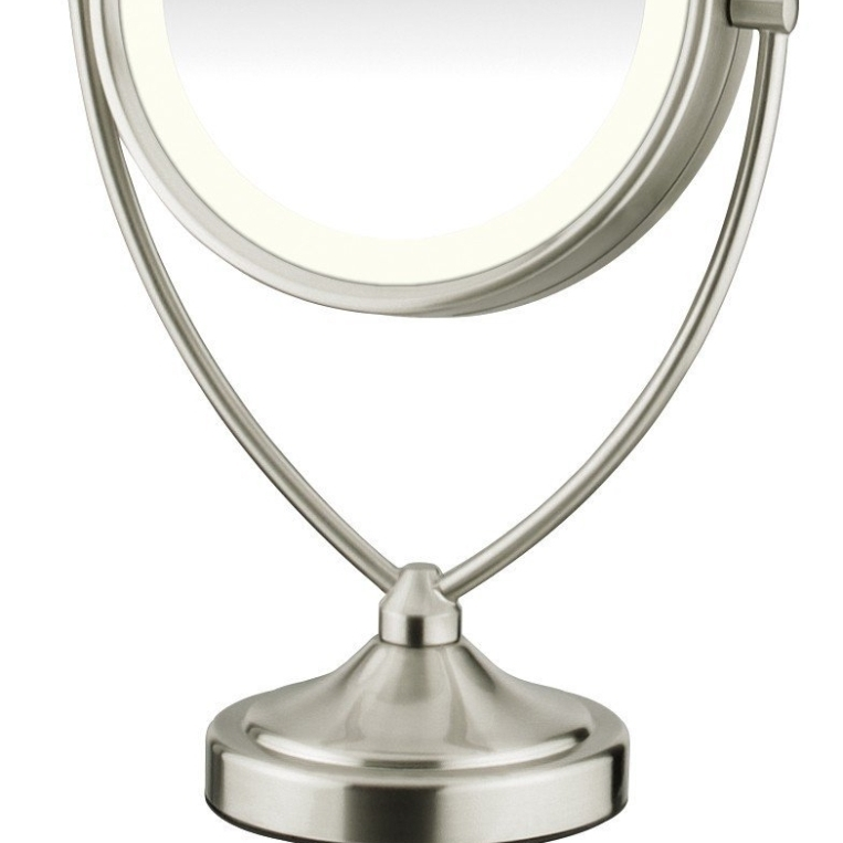 Conair BE122 Round Shaped Natural Daylight Double-Sided Lighted Makeup Mirror (1)