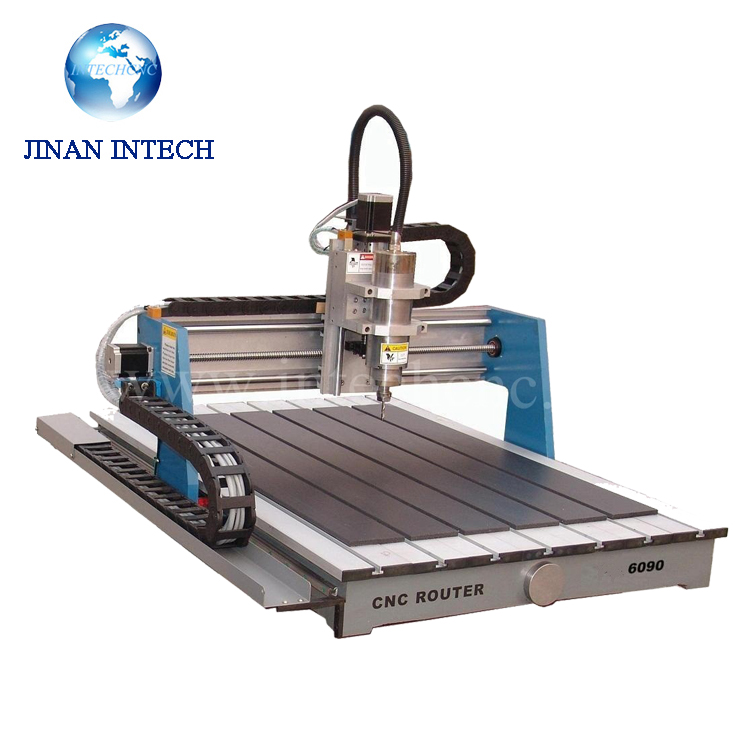 Best choice 5 axis cnc lfg6090 intechcnc small cnc milling for Best router motor for cnc