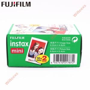 Image 4 - 20   100 sheets Fujifilm Instax Mini White Film Instant Photo Paper For Instax Mini 11 8 mini 9 7s 9 70 25 50s 90  Camera SP 1 2