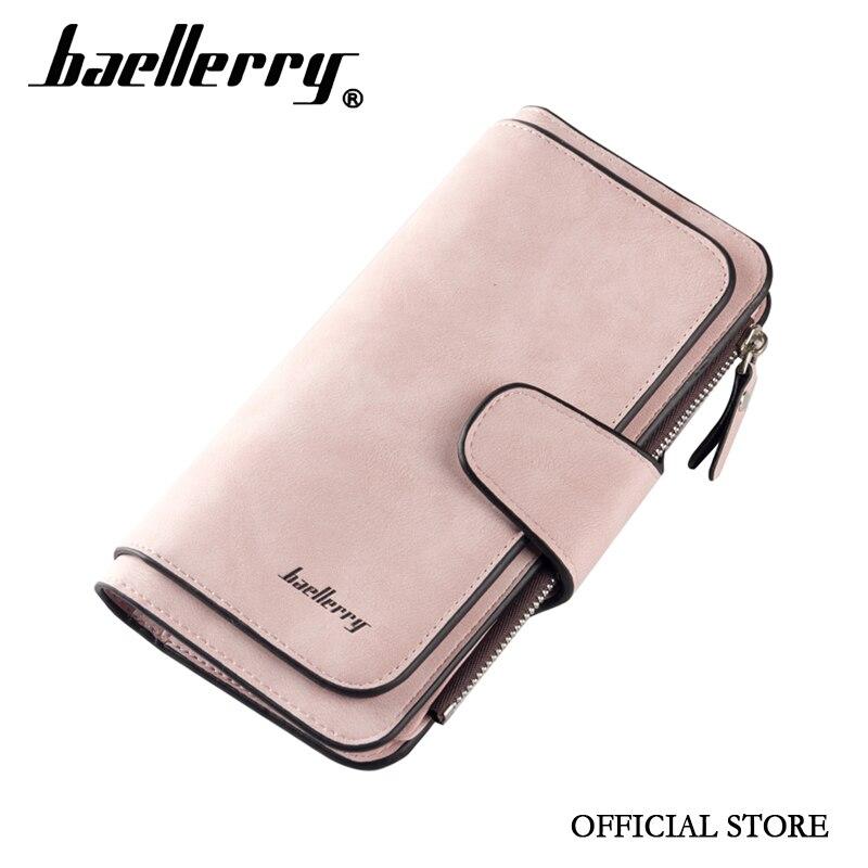 Baellerry Offizielle Ankunft Koreanische Fabrik Preis Baellerry Frauen Brieftasche Leder Geldbörse Für Immer Junges Mädchen Brieftasche Studenten Geldbeutel Exzellente QualitäT