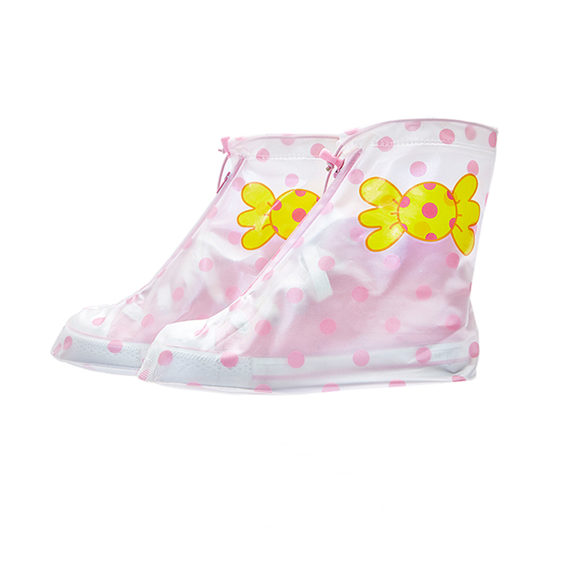 Shoes-Covers Rain Waterproof Outdoor Fashion for Boys Girls Activities 1-Pair Kids PVC