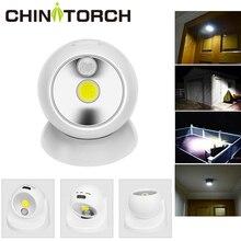 Датчик движения света беспроводная водонепроницаемая для дома и улицы прожектор светодиодный Аккумулятор безопасности ночник 360 градусов садовый настенный светильник