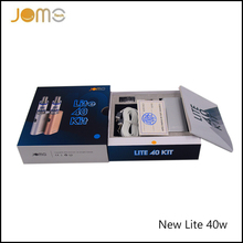 JomoTech Patented Electronic Cigarette New Subohm Kit 2200mAh Ecig Box Mod Jomo Lite 40W Vape Mod with Replacement Coil Jomo-02