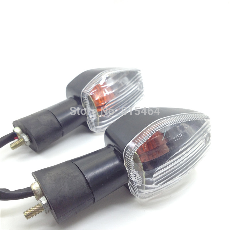 1 Pair Motorcycle Turn Signal Light Motorbike Tail Indicators Front Lamp For Honda CB400 SF Hornet CB600F CB900F RVT1000R  RC51