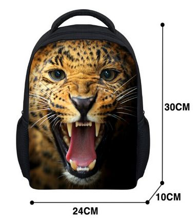 d53d3b54b16f Novelty Gifts Owl Print Schoolbags for Boys Cool Animal Crazy Horse  Kindergarten Children School Bags Kids Shoulder Bag Book Bag-in School Bags  from Luggage ...