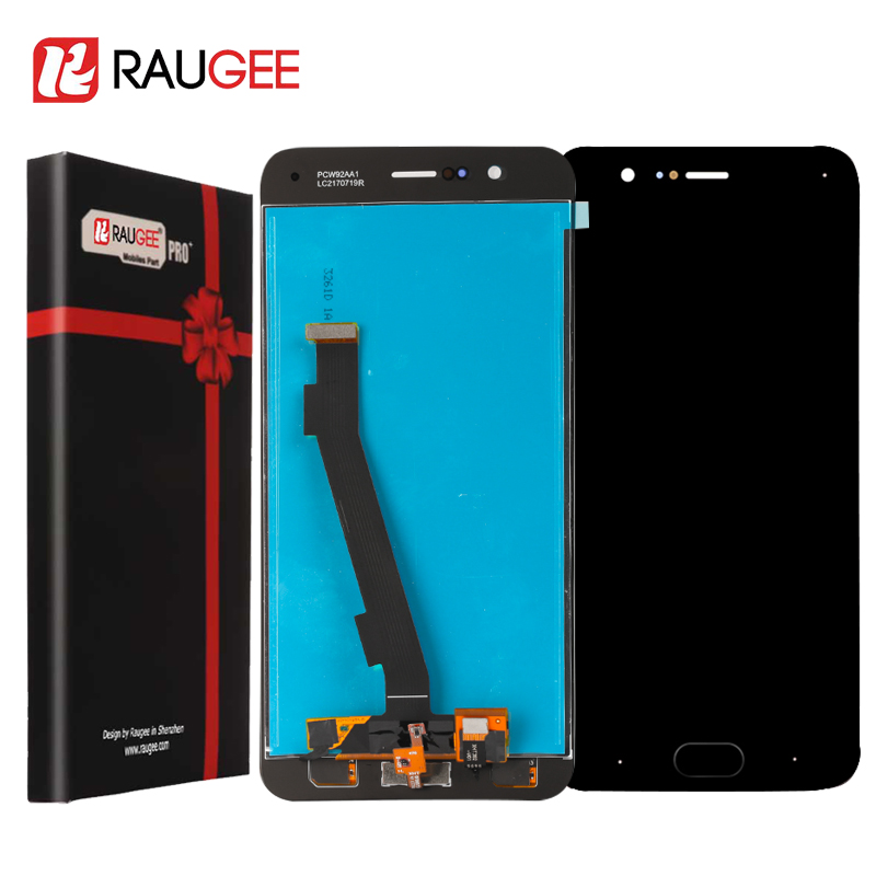 For Xiaomi Mi Note 3 LCD Screen Display +Touch Screen with Fingerprint Button Digitizer Replacement For Xiaomi Mi Note 3 5.5''